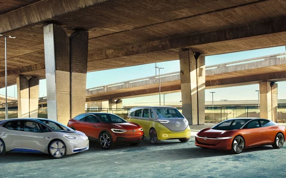 coches eléctricos volkswagen